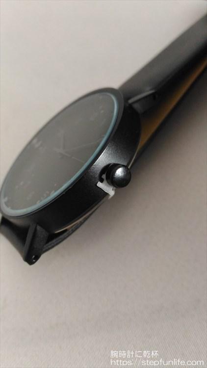 ダイソー 500円時計 シンプルウォッチ 保護材