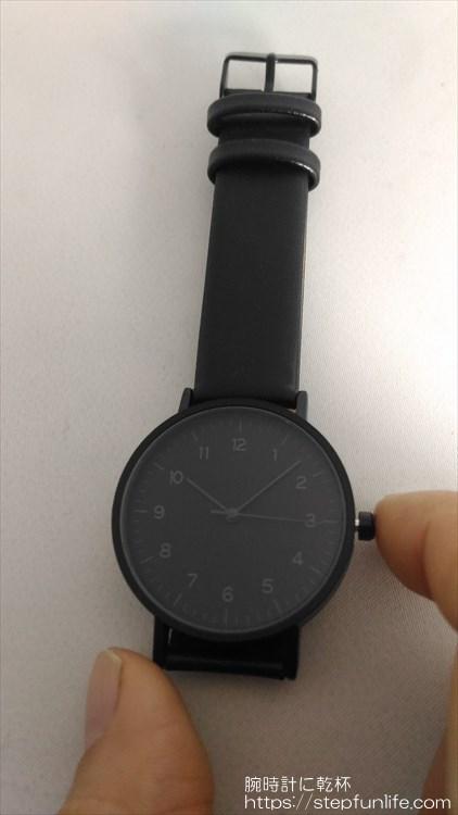 ダイソー 500円時計 シンプルウォッチ 通電