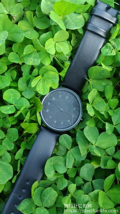 ダイソー 500円時計 シンプルウォッチ イメージ