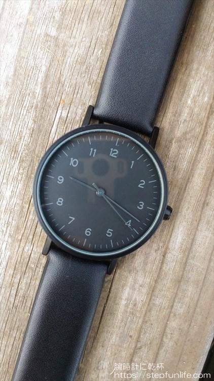 ダイソー 500円時計 シンプルウォッチ イメージ2