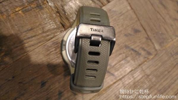 タイメックス エクスペディション T49612 バックルロゴ