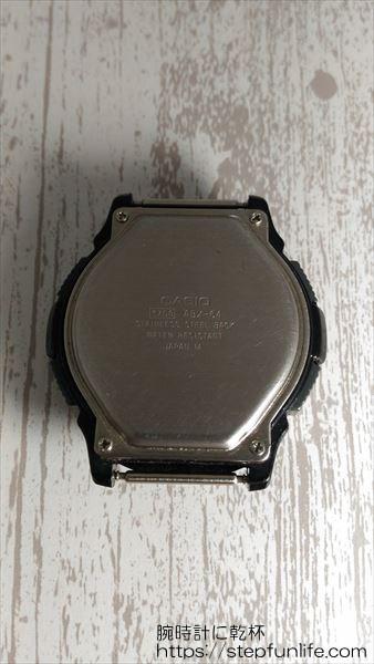 カシオ ツインセプト abx-64 裏蓋