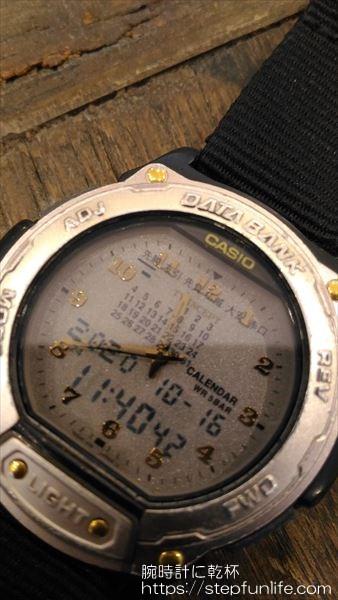 カシオ ツインセプト abx-64 液晶表示