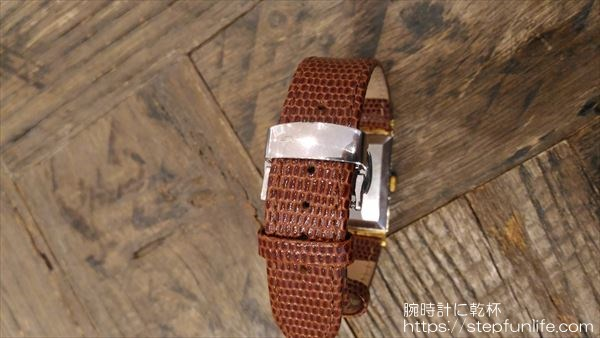 ウォルサム マキシム (waltham maxim) 角型 手巻き Dバックル2