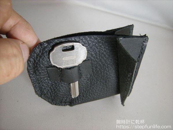 L字ファスナー財布(リザード革)  小銭入れ(鍵スペースあり)