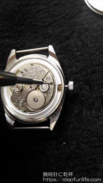 腕時計のムーブメント・文字盤交換 10