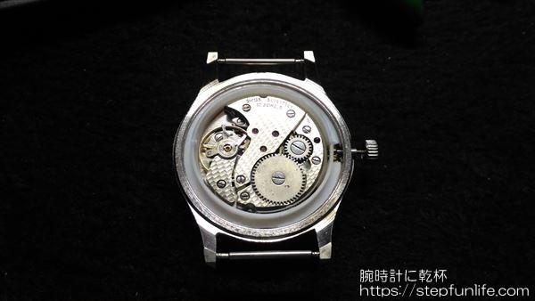 腕時計のムーブメント・文字盤交換 ケース収め