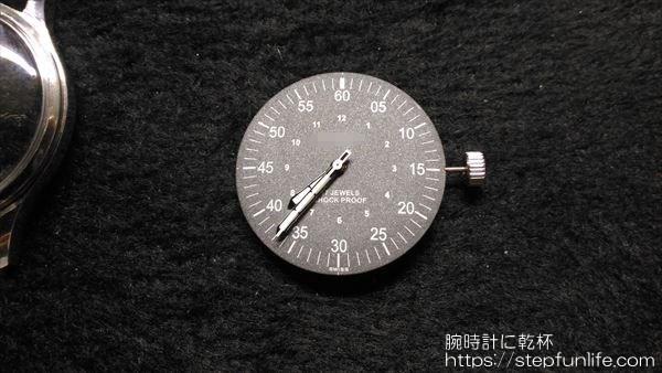 腕時計のムーブメント・文字盤交換6