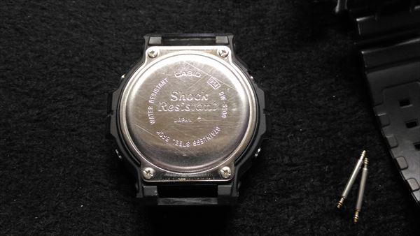 カシオ Gショック DW-5900 電池交換