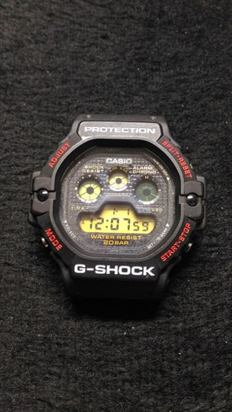 カシオ Gショック DW-5900 電池交換8 完了