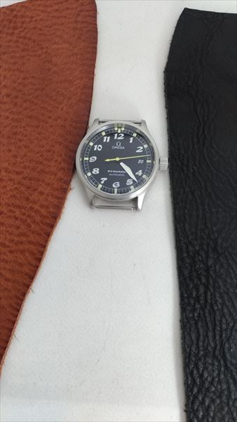超簡単 腕時計ベルトの作り方 時計本体