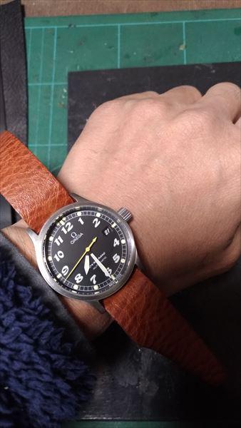 超簡単 腕時計ベルトの作り方 サイズ確認