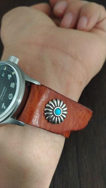 超簡単 腕時計ベルトの作り方 着用方法