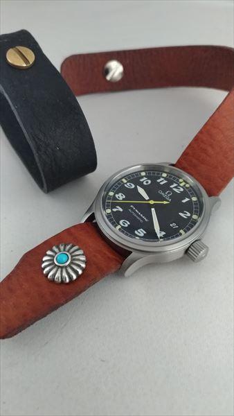 超簡単 腕時計ベルトの作り方 イメージ
