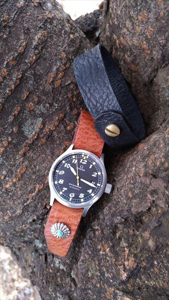 超簡単 腕時計ベルトの作り方