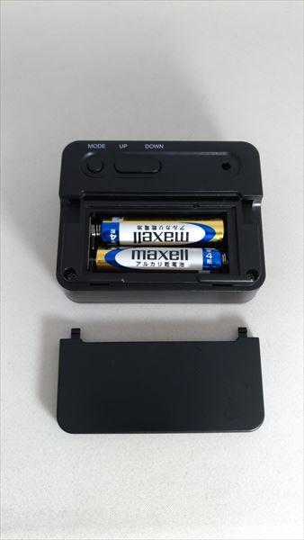 ダイソー 300円デジタル時計 電池
