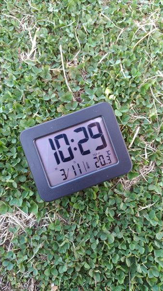 ダイソー 300円デジタル時計