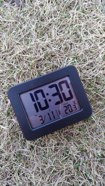 ダイソー 300円デジタル時計 フェイス2