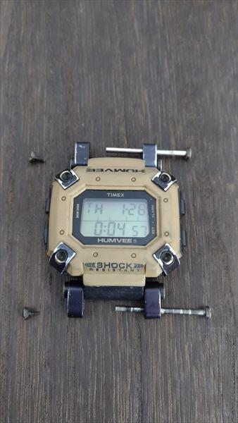 タイメックス ハンビー (timex humvee)  ベルト交換
