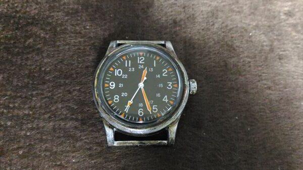 ダイソー 500円腕時計 ミリウォッチ 電池交換 手順 完成表