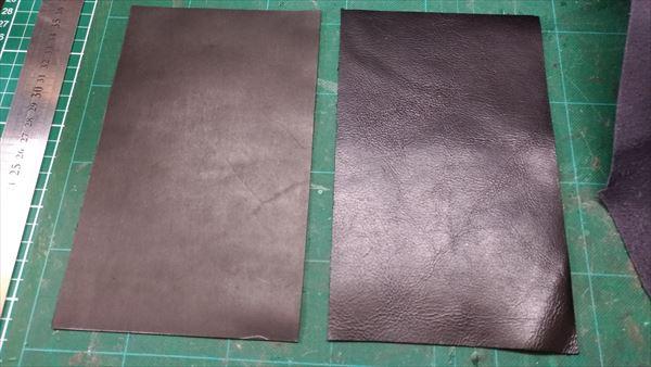 L字ファスナー財布を自作。完成イメージ 外装・内装材料