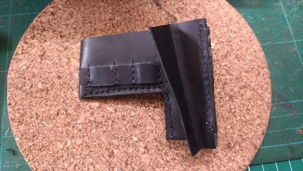 L字ファスナー財布を自作。内部部品