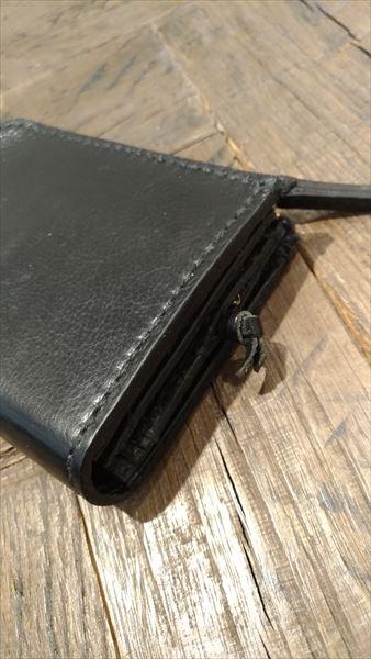 L字ファスナー財布を自作。スライドキー セット
