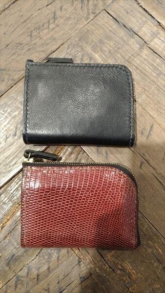 L字ファスナー財布を自作。3作目と4作目