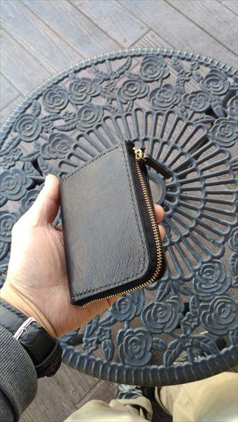 L字ファスナー財布を自作。完成イメージ2