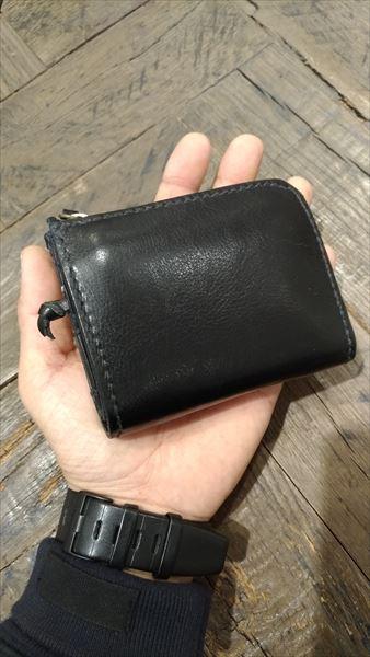 L字ファスナー財布を自作。完成イメージ