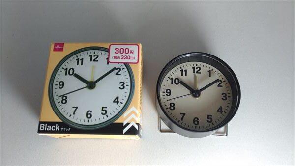 ダイソー ミニ クロック (daiso mini clock) フェイス