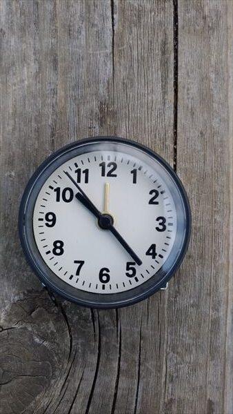 ダイソー ミニ クロック (daiso mini clock) イメージ2