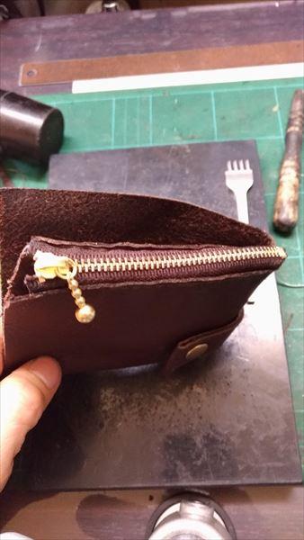 薄い財布を自作(レザークラフト・ハンドメイド) 作成経過