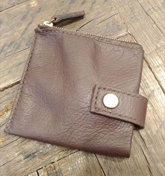 薄い財布を自作(レザークラフト)