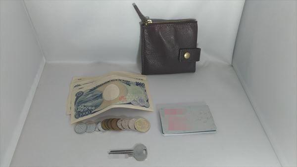 薄い財布を自作(レザークラフト・ハンドメイド) 収納テスト