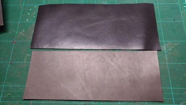 小さい財布を自作。材料