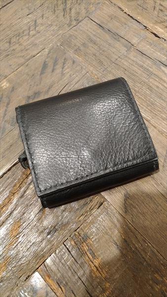 小さい財布を自作。完成