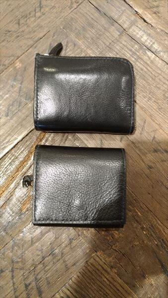 小さい財布を自作。L字ファスナー財布と比較