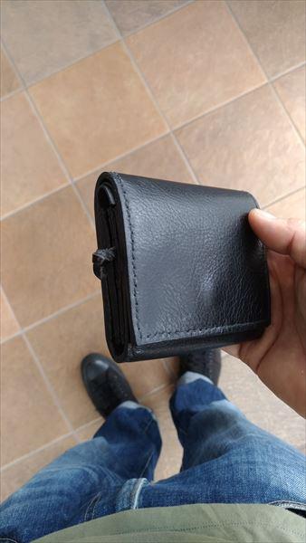 小さい財布を自作。イメージ