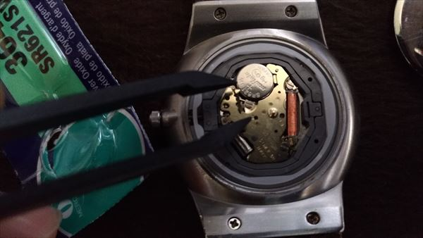 スカーゲン (skagen) 233xxlslb 電池交換3