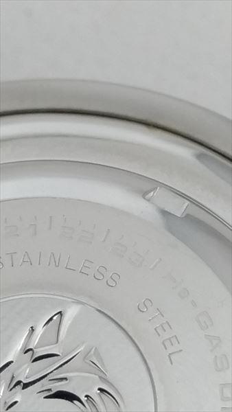 セイコー マリーンマスター  ツナ缶 SBBN017 7C46 電池交換 刻印
